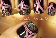 Breast cancer nails / by Diana Large Franklin