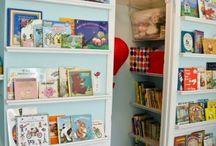 Opbevaring af bøger / Book Storage