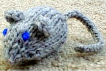 Knits for Pets / Here are some of our great knitting patterns for that special cat or dog in our lives. / by Frugal Knitting Haus
