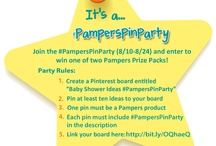 Twins Baby Shower Ideas #pamperspinparty