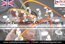 Oracle Fusion HCM Online Training / Rudra IT Solutions is one of the Promote leading IT Services and Oracle Fusion HCM Online Training  solutions along with IT Online training conservatory, with latest Industry offering technology in Hyderabad,India, USA, UK, Australia, New Zealand, UAE, Saudi Arabia,Pakistan, Singapore, Kuwait.   About Course Details: http://www.rudraitsolutions.com/fusion-applications/oracle-fusion-human-capital-management-hcm.php