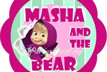 Masha and the bear party