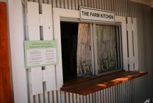 The Farm Kitchen / The best combination of gorgeous views and tasty treats.