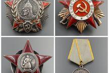 soviet medals/orders