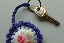 Crochet key-rings n bookmarks