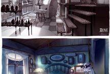 Cenários - interiores