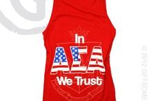 Alpha Sigma Alpha Shirts / by Jessica
