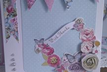 Bellissima cards by home is where the craft is / Docrafts bellissima crafted items