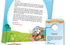 Holiday letters for kids / by Janice Salazar