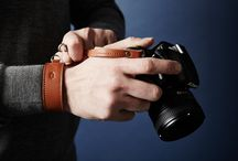 Camera Accessories / Everyday carry lifestyle essentials. Handmade with full grain cowhide leather.