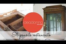 Restauro e pittura di mobili