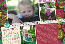 Back to School / Take a peek at these fun back to school digital scrapbooking layouts!