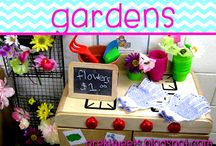 Gardens / Ideas and resources for vegetable or flower gardening unit.