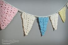 Crochet - Garlands and buntings / by Laura Hubbell