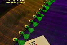 Saree pallu design