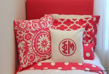 Phi Mu Sorority / by Decor 2 Ur Door Bedding