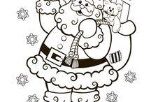Christmas drawings