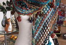 crochet shawl toquillas