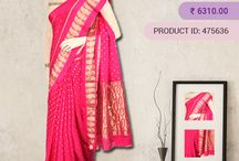 Party Wear Silk Sarees / Silk Sarees are light weight and the designer collection in crepe is a delight for any woman to wear. They are suitable for any occasion, be it weddings, functions, parties, cocktails, pujas or even casual wear.