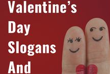 Valentine's Day Slogans and Sayings