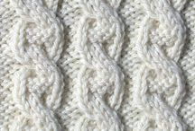 Knitting Textures / Ideas for cables, textures and other knitting techniques