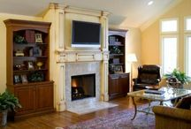 Fireplace / by Creative Design Construction