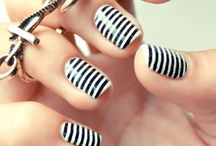 Ideas for the colourful nails