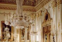 Royal Palace / Palazzi reali / Buckingham Palace - Windsor Castle (England), Winter Palace - Summer Palace (Russia), Grimaldi Palace (Monte Carlo), Versailles (France), Palacio Real (Spain), Amalienborg Palace (Denmark)