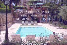 VillaCicchi.it / Il lusso della semplicità