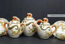 Asian tea sets