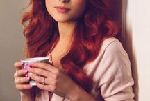 Elena Gheorghe / Redhead, Beautiful, Singer, Romanian, Girl,
