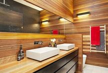 интерьер / interior / Bathroom modern