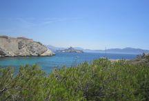 Le Frioul dans la rade de Marseille / Un archipel constitué de quatre îles,