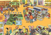 Kleuters, thema winkel
