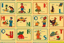affiches retros/étiquettes