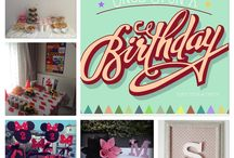 Party decorations / Decorations for parties, babyshowers and kids rooms!