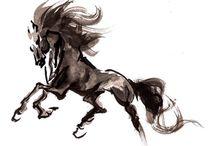 obrazy koni