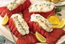 Seafood plates