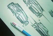 My Cars sketch / My best car sketchs