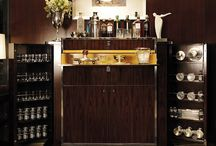 bar in the living room