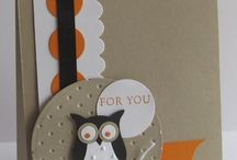 owl and animal cards