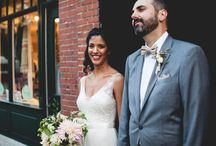 Emily and Dan celebrate their nuptials in Harvard Square / One of my favorite weddings of 2016 at the Sinclair in Harvard Square.  These two were surrounded by such a loving, wonderful group of family that makes my heart swell each time I think of them.  All photos by Daniela Dawson