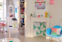 Bright Scandi Kids Room
