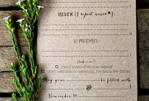 Wedding invitations and other stuff