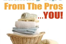 Laundry Tips / Stain Removal, Laundry Tips, pre-treating stains, help from the family, and time saving tips. / by Patty Bennett