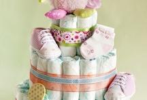 Diaper cakes / by Gail Johnson