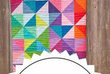Solid colour quilts