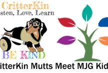 The Martin J. Gottlieb Day School / Ms. Jenaia. Maaahty and the CritterKin mutts are excited to be visiting, reading and working on art projects with the kids at MJG to learn about kindness and help homeless animals in their community. Stay tuned to see the tail wagging results.