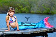 Mermaid's tails seria  Sea Princess blue