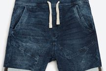 Mens Denim Short